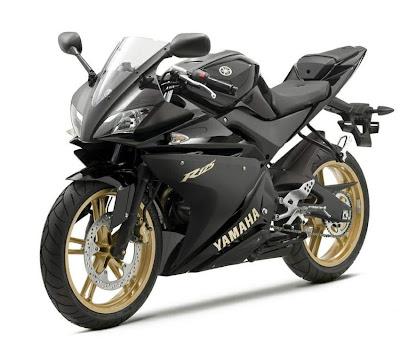 2010 Yamaha YZF-R 125 Black