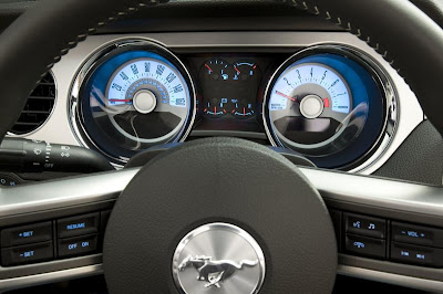 2011 Ford Mustang V6 Steering Wheel