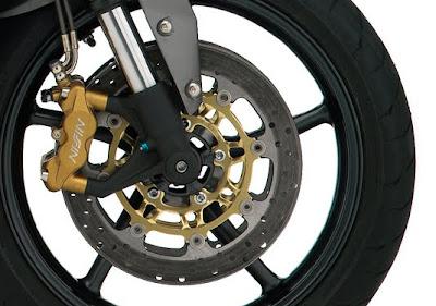 2010 Triumph Street Triple R Brakes