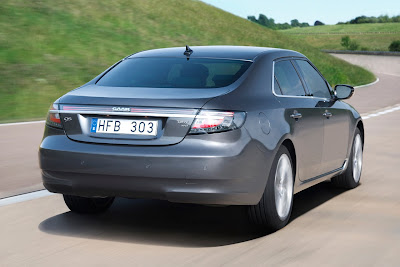 2010 Saab 9-5 Rear View