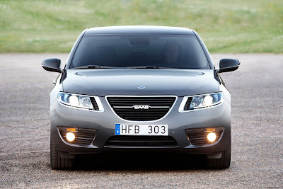 2010 Saab 9-5 Official Front View
