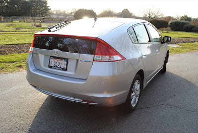 2010 Honda Insight Rear View