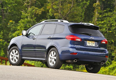 2010 Subaru Tribeca Rear View