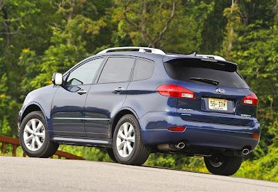 2010 Subaru Tribeca Rear View