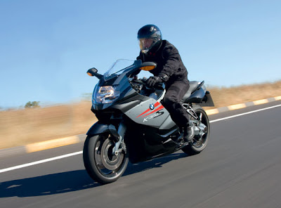 2010 BMW K1300S Test Road