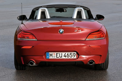 2011 BMW Z4 Rear View