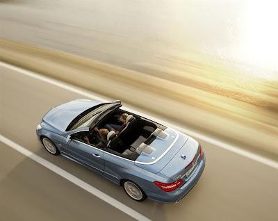2011 Mercedes-Benz E-Class Cabriolet Top View
