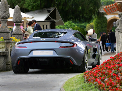 2010 Aston Martin One-77 Rear View