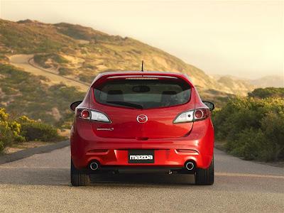 2010 Mazdaspeed3 Rear View