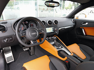 2011 Audi TTS Coupe Interior