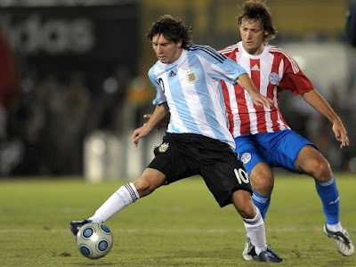 Lionel Messi World Cup 2010 Football Image