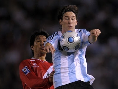 Lionel Messi World Cup 2010 Wallpaper
