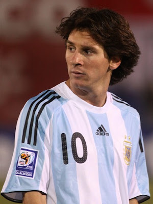 Lionel Messi World Cup 2010 Argentina Football Team