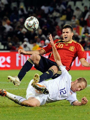 Cesc Fabregas World Cup 2010 Duel