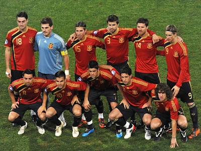 Spain World Cup 2010 Football Team Photo