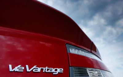 2011 Aston Martin V12 Vantage Car Emblem