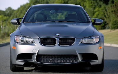 2011 BMW M3 Frozen Gray Coupe Front View