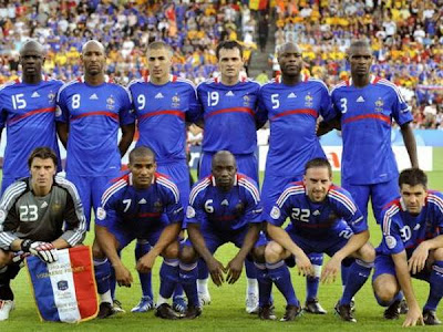 World Cup 2010 France Soccer Team Photo