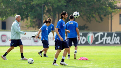 World Cup 2010 Italy Football Players
