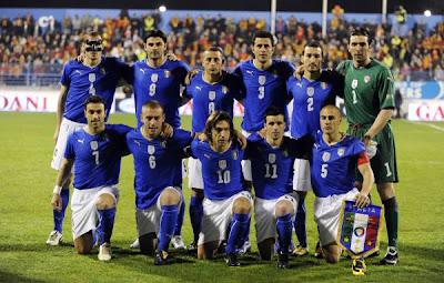 World Cup 2010 Italy Football Team Wallpaper