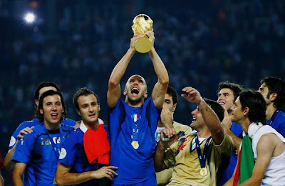 World Cup 2010 Italy Football Team Celebration