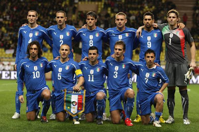 Italy Football Team World Cup 2010 Picture
