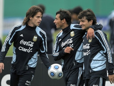 Argentina Football Players World Cup 2010