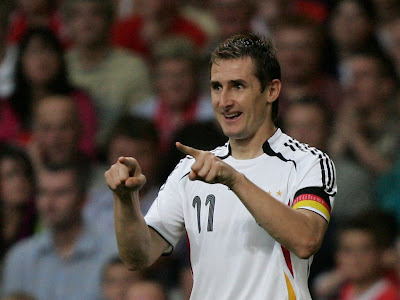 Miroslav Klose World Cup 2010 Celebration