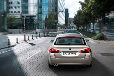 2011 BMW 5 Series Touring Rear View