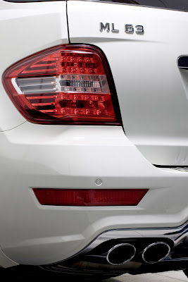 2011 Mercedes-Benz ML 63 AMG Taillight