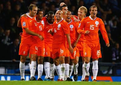Netherlands Football Team World Cup 2010
