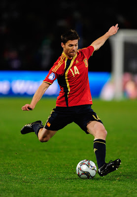Xabi Alonso World Cup 2010 Football Photo