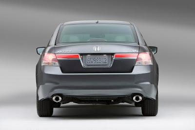 2011 Honda Accord Sedan Rear View