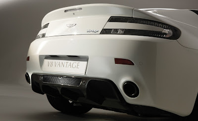 2011 Aston Martin V8 Vantage N420 Rear End
