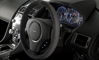 2011 Aston Martin V8 Vantage N420 Cockpit