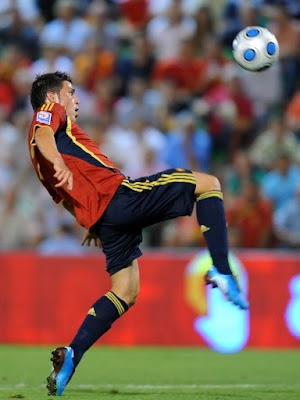 David Villa World Cup 2010 Top Pictures