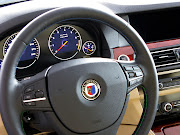 2011 Alpina BMW B5 BiTurbo Steering Wheel
