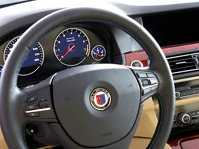 2011 Alpina BMW B5 Bi-Turbo Steering Wheel