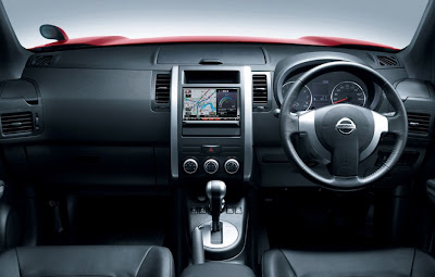 2011 Nissan X-Trail Interior View