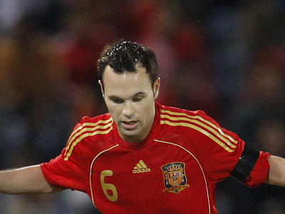 Andres Iniesta World Cup 2010 Spain Football Player