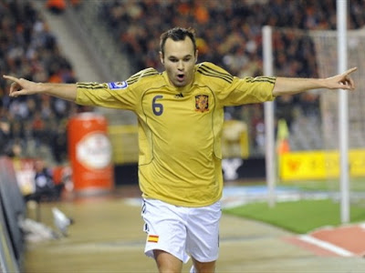 soccer world cup 2010 wallpaper. Andres Iniesta World Cup 2010