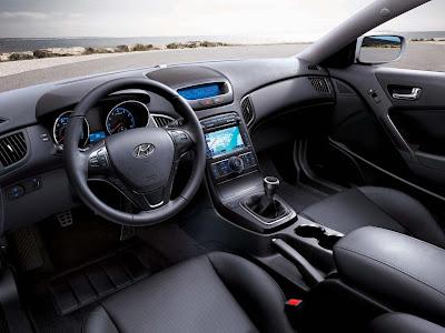 2011 Hyundai Genesis Coupe 3.8 R Interior