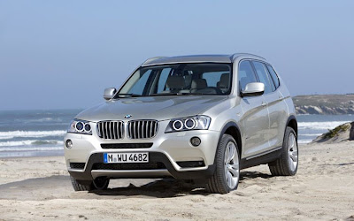 2011 BMW X3 Official Pictures