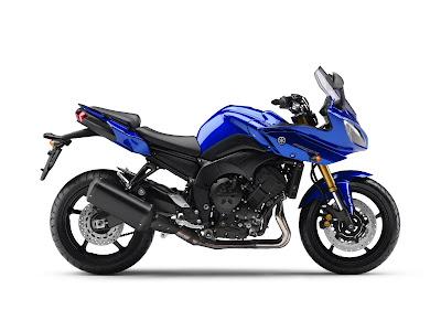2011 Yamaha Fazer8 Blue Color