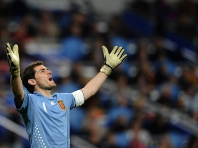 Iker Casillas World Cup 2010 Celebration