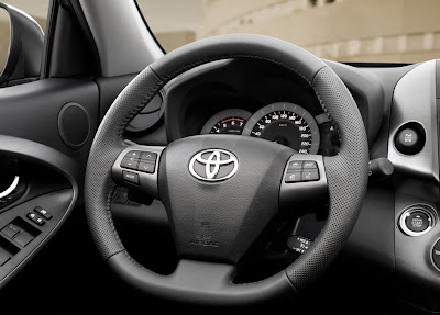 2011 Toyota RAV4 Facelift Dashboard