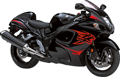 2011 Suzuki Hayabusa Black Red