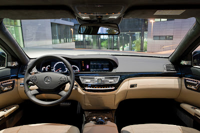 2011 Mercedes-Benz S63 AMG Interior View
