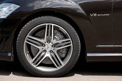 2011 Mercedes-Benz S63 AMG Car Wheel