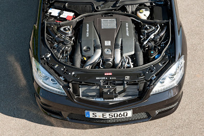 2011 Mercedes-Benz S63 AMG Car Engine